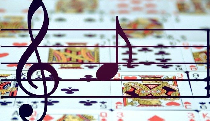 My music playlist for playing poker