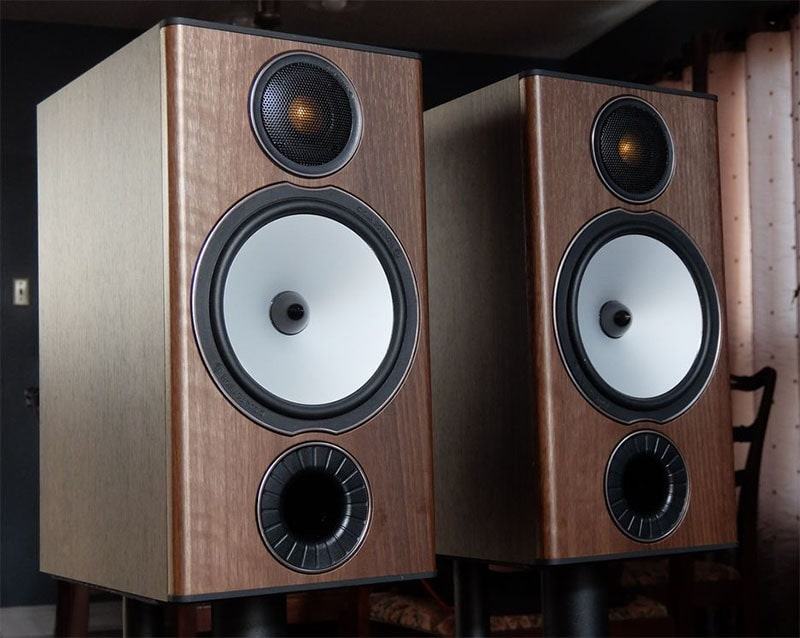 Monitor Audio BX2 Speakers with dynamic bass and C-CAM tweeter