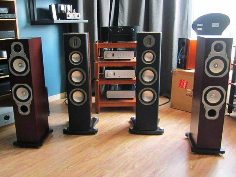 The floor-standers Monitor Audio Gold Reference 20