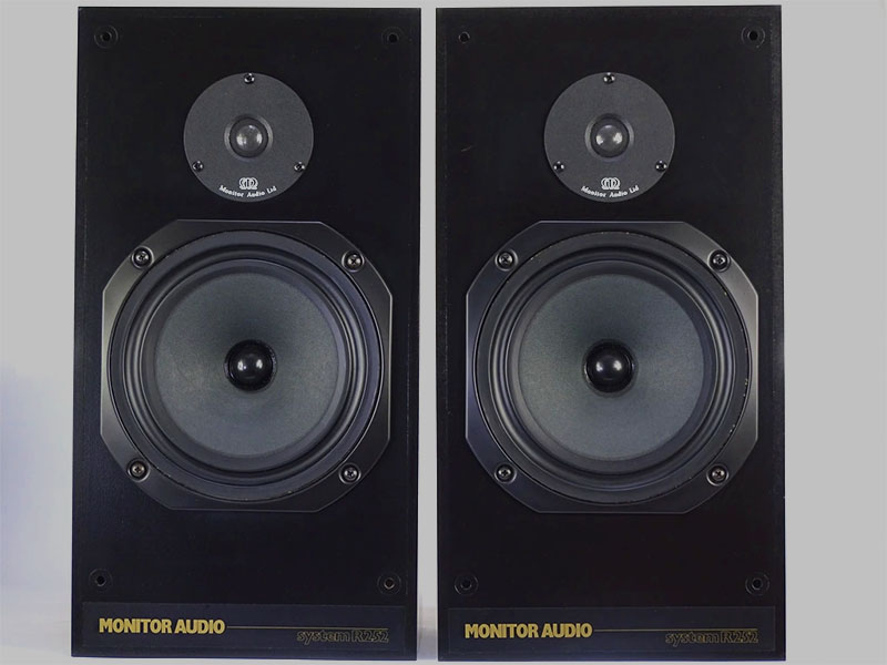 Monitor Audio R252 speakers from the 80s