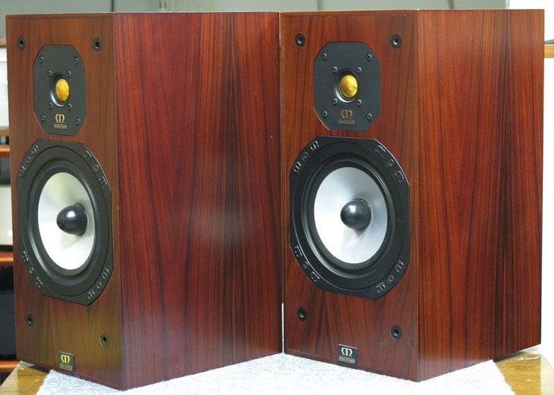 Two Monitor Audio Studio 10 Speakers