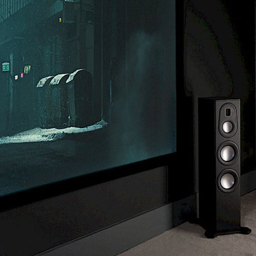 Platinum II PL300 floorstanding speaker connected to your home theater