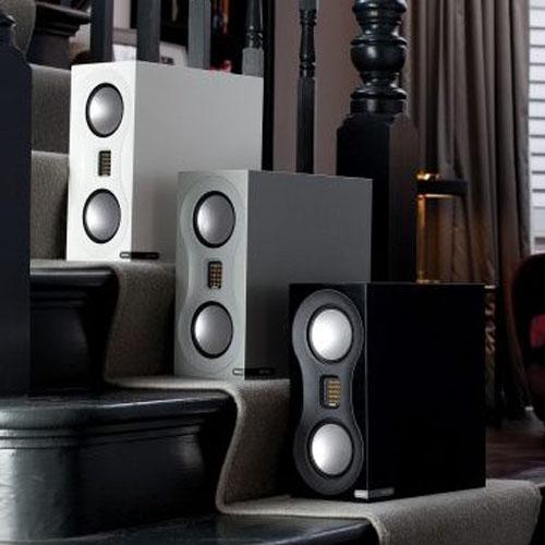 Monitor Audio Studio Series speaker with two cones